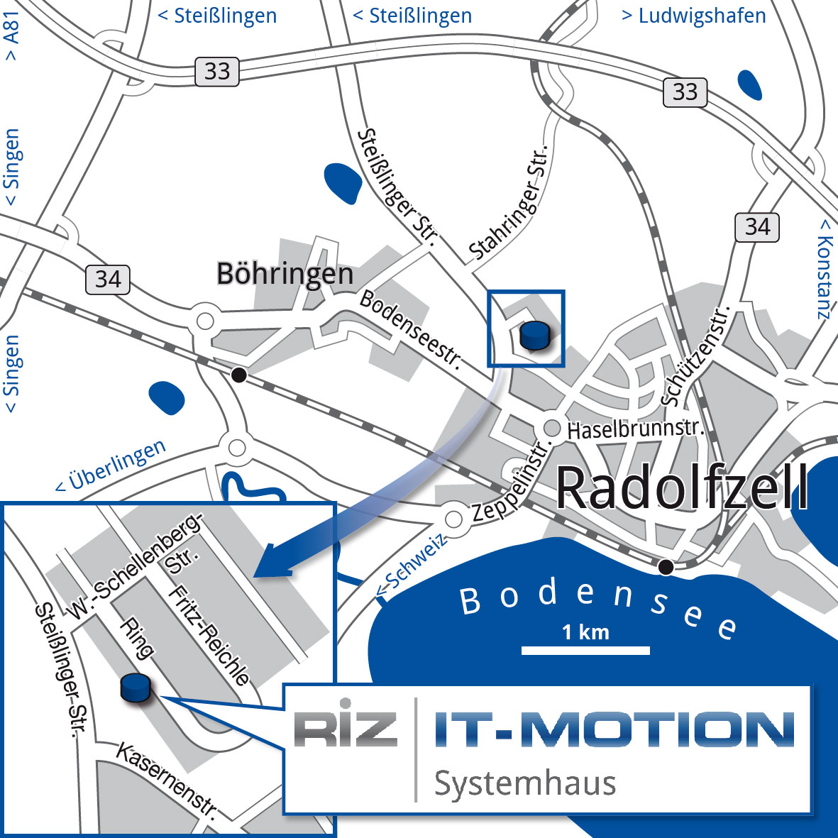 RiZ IT-Motion map